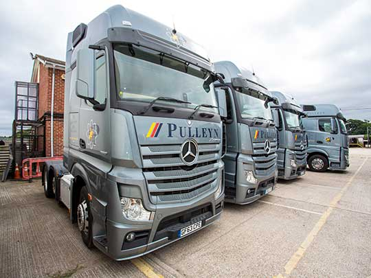 PULLEYN TRANSPORT IS RECRUITING LGV1 DRIVERS